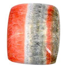 Natural 19.45cts celestobarite orange cabochon 18.5x15.5mm loose gemstone s19837