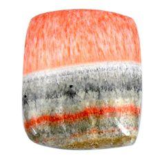 Natural 22.05cts celestobarite orange cabochon 20.5x17 mm loose gemstone s19840