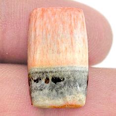 Natural 16.30cts celestobarite orange cabochon 21x12 mm loose gemstone s23676