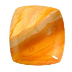 Natural 43.15cts cherry creek jasper brown 31x26mm octagan loose gemstone s21938