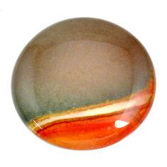 Natural 63.10cts cherry creek jasper brown 33.5x33.5 mm loose gemstone s21924