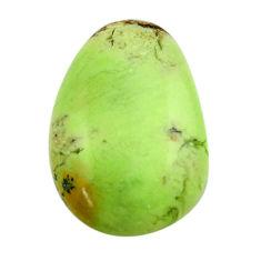 chrysoprase lemon cabochon 22.5x15 mm loose gemstone s17543