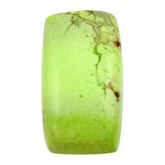 chrysoprase lemon cabochon 22x12 mm loose gemstone s17549