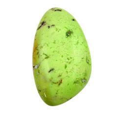 chrysoprase lemon cabochon 25x14 mm fancy loose gemstone s17567
