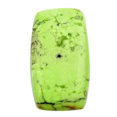 chrysoprase lemon cabochon 27.5x15 mm loose gemstone s17550