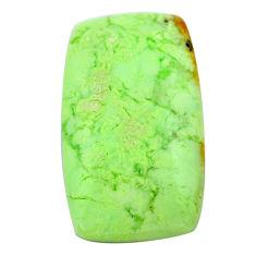 Natural 29.45cts chrysoprase lemon cabochon 32x18 mm loose gemstone s23681
