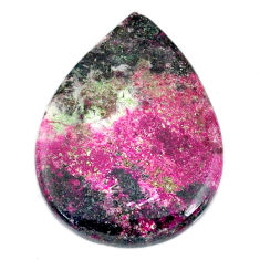 Natural 28.15cts cobalt calcite pink cabochon 30x22.5 mm loose gemstone s20207