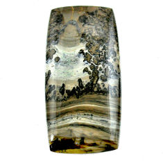 Natural 89.15cts cotham landscape marble 60x29 mm octagan loose gemstone s23522