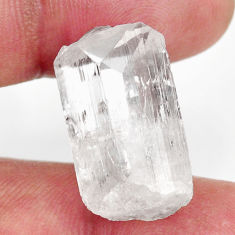 danburite faceted white 22.5x13 mm fancy loose gemstone s16443