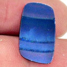 doublet opal australian blue 19x11mm fancy loose gemstone s16741