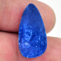 Natural 6.25cts doublet opal australian blue 20x12mm fancy loose gemstone s16764