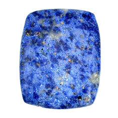 Natural 26.30cts dumortierite blue cabochon 28x21 mm loose gemstone s22339