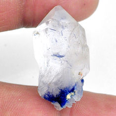 Natural 41.30cts dumortierite rough blue rough 30x15 mm loose gemstone s20035