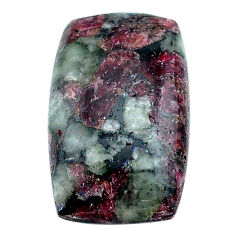 Natural 18.05cts eudialyte pink cabochon 25x15 mm octagan loose gemstone s22919