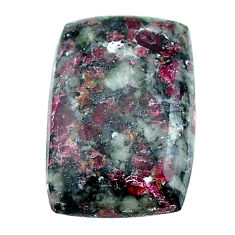 Natural 18.10cts eudialyte pink cabochon 25x17 mm octagan loose gemstone s22911