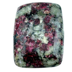 Natural 23.25cts eudialyte pink cabochon 25x17 mm octagan loose gemstone s22920
