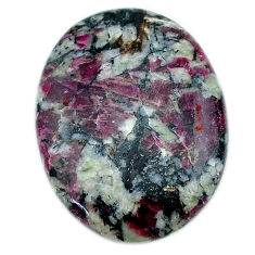Natural 16.30cts eudialyte pink cabochon 25x18.5 mm oval loose gemstone s22901