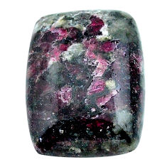 Natural 16.30cts eudialyte pink cabochon 26x15 mm octagan loose gemstone s22909