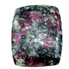 Natural 16.30cts eudialyte pink cabochon 26x18 mm octagan loose gemstone s22905