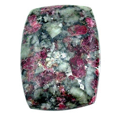 Natural 20.15cts eudialyte pink cabochon 26x18 mm octagan loose gemstone s22918