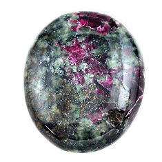 Natural 27.40cts eudialyte pink cabochon 26x21 mm oval loose gemstone s23618