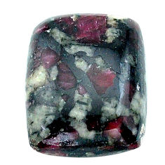 Natural 17.10cts eudialyte pink cabochon 28x15 mm octagan loose gemstone s22914