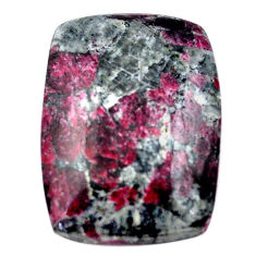 Natural 49.35cts eudialyte pink cabochon 33x24 mm octagan loose gemstone s23605
