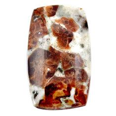 Natural 30.10cts garnet in limestone spessartine 29x16 mm loose gemstone s23457