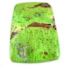 Natural 10.85cts gaspeite green cabochon 18.5x14 mm fancy loose gemstone s19657