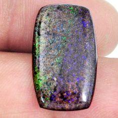 Natural 10.15cts honduran matrix opal black 23x13 mm loose gemstone s21455