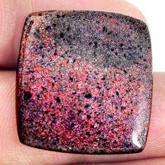Natural 18.10cts honduran matrix opal black 24x22.5 mm loose gemstone s21423