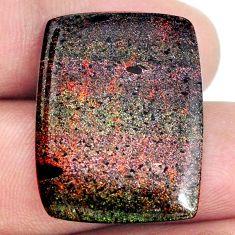 Natural 14.35cts honduran matrix opal black 27x21 mm loose gemstone s21425