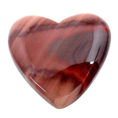 Natural 17.35cts imperial jasper brown cabochon 21x20 mm loose gemstone s24556