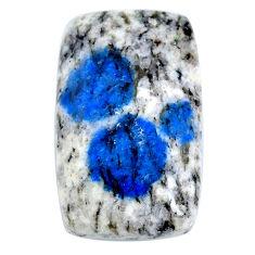Natural 21.30cts k2 blue (azurite in quartz) 25x15 mm loose gemstone s20407