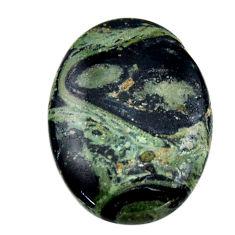 Natural 26.30cts kambaba jasper green cabochon 30x22 mm loose gemstone s19002