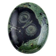 Natural 26.30cts kambaba jasper green cabochon 30x22 mm loose gemstone s19020