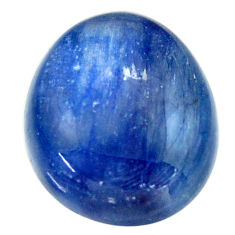 Natural 16.30cts kyanite blue cabochon 17x14.5 mm fancy loose gemstone s17958