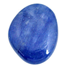 Natural 22.35cts kyanite blue cabochon 22.5x17.5 mm fancy loose gemstone s20377