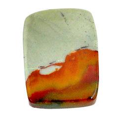 Natural 18.10cts landscape picture jasper 23x16.5 mm loose gemstone s22722