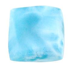 Natural 21.30cts larimar blue cabochon 17x16.5 mm octagan loose gemstone s22593