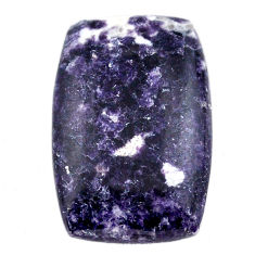 Natural 25.15cts lepidolite cabochon 28x18 mm octagan loose gemstone s23358