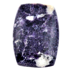 Natural 26.25cts lepidolite cabochon 29x30 mm octagan loose gemstone s23357