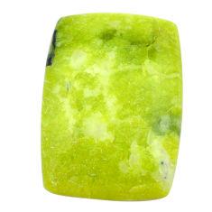 Natural 22.35cts lizardite (meditation stone) 25x17.5 mm loose gemstone s23763