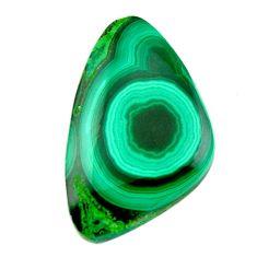 Natural 29.30cts malachite (pilot's stone) 30x18.5mm fancy loose gemstone s19348