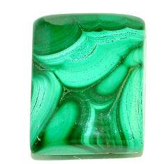 Natural 37.40cts malachite (pilot's stone) green 23x17 mm loose gemstone s22983