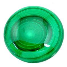 Natural 58.45cts malachite (pilot's stone) green 25x25 mm loose gemstone s21531