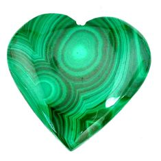 Natural 39.30cts malachite (pilot's stone) green 26x26 mm loose gemstone s21539