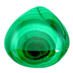 Natural 59.35cts malachite (pilot's stone) green 30x30 mm loose gemstone s21530