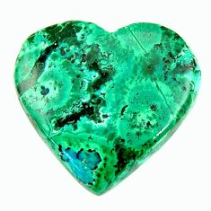 malachite in turquoise green 21x20 mm loose gemstone s17261