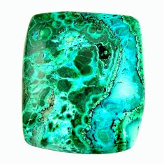 Natural 22.40cts malachite in turquoise green 24x20 mm loose gemstone s17242
